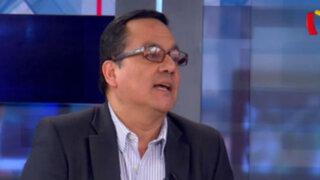 """Víctor Andrés Ponce: """"Hoy la gobernabilidad es más importante que en elecciones anteriores"""""""