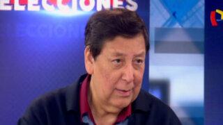 """Enrique Bernales: """"Economía y política tienen que estar concordadas"""""""