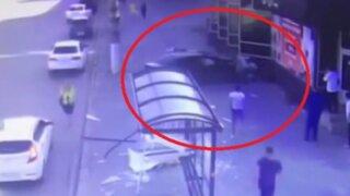 Rusia: fatal accidente dejó un muerto y un herido