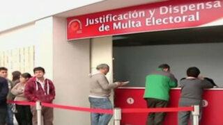 JNE inicia trámites para entregar dispensas por no votar