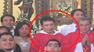 Trujillo: detienen a sacerdote por realizar tocamientos indebidos