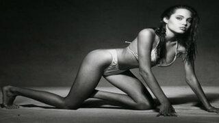 Revelan imágenes inéditas de las primeras sesiones de fotos de Angelina Jolie