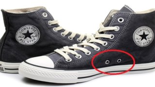 ¡Misterio resuelto! Conoce para qué sirven los agujeros laterales de las zapatillas