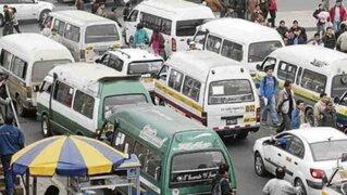 Empresa de transporte del Callao presenta amparo para operar en principales avenidas