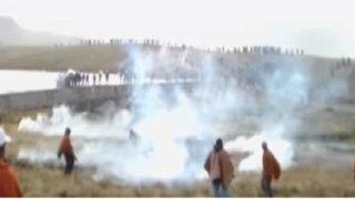 La Libertad: comuneros de Otuzco atacan a policías