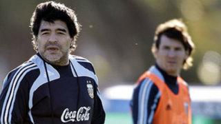 Bloque Deportivo: Maradona afirma que Messi carece de liderazgo