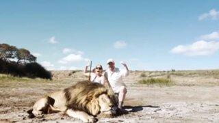 ¿Karma? La venganza de un león contra pareja de cazadores