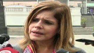 Mercedes Aráoz niega haber propuesto control de medios de comunicación