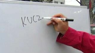 ¿Cómo se escribe el apellido del presidente electo?