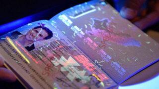 Pasaporte electrónico peruano podría ser elegido como el mejor documento del 2016