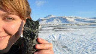 ¿Se puede convertir el dióxido de carbono en piedra?
