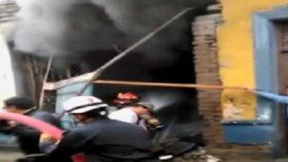 La Victoria: devastador incendio dejó un muerto
