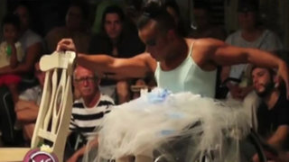 Puerto Rico: admirable baile de joven en silla de ruedas