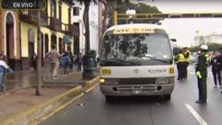 Municipalidad de Lima realiza operativo contra 'Chosicanos'