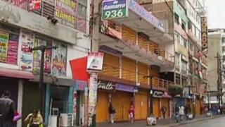 Gamarra: así luce emporio comercial tras desalojo de ambulantes
