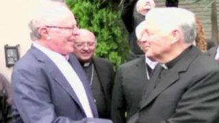 PPK recibió a obispos de la conferencia episcopal