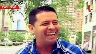 Alfonso 'Puchungo' Yáñez llegó hasta Nueva Jersey para alentar a la Selección