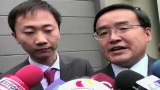 PPK se reunió con ministro de Economía Alonso Segura y embajador de China