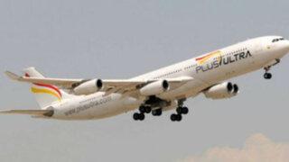 Aerolínea española inició vuelos de Lima a Madrid