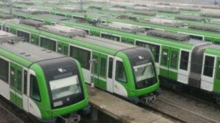 Ministro anuncia adquisición de 20 trenes para Línea 1 del Metro de Lima