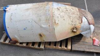 Japón: encuentran restos de un supuesto misil norcoreano