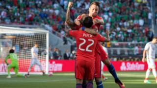 Chile humilló 7-0 a México y clasificó a las semifinales de la Copa América
