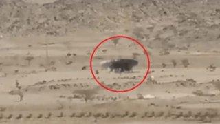 YouTube: avistan a nave extraterrestre aterrizando en desierto de Sahara