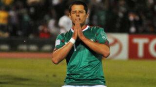'Chicharito' se disculpó tras estrepitoso 0-7 ante Chile