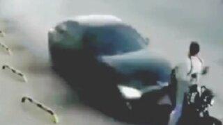 Paraguay: hombre pierde pierna tras ser embestido por un automóvil