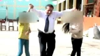 Profesor que violó a 17 alumnas se ha convertido en el más buscado del país