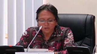 Juez dicta comparecencia restringida para madre de Nadine Heredia