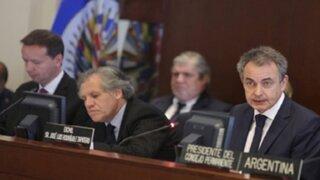 Piden a la OEA una oportunidad de diálogo en Venezuela