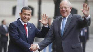 PPK se reunió con Ollanta Humala en Palacio de Gobierno