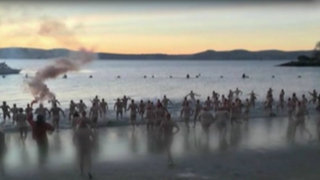 Así se celebra la llegada del invierno en la Antártida