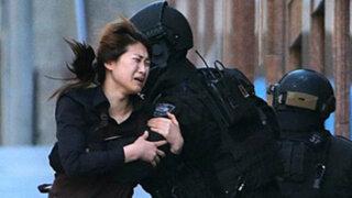 Impactantes imágenes: dramático rescate de rehenes en China
