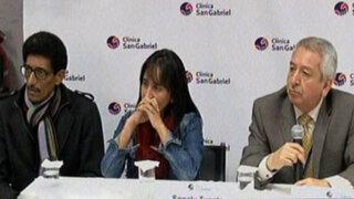 Sonaly Tuesta fue dada de alta tras pasar 18 días internada