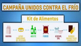 Kit de alimentos y abrigo para apoyar a nuestros hermanos víctimas del friaje