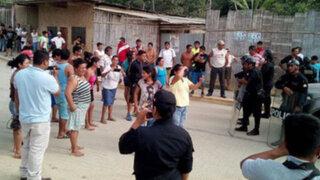 Tumbes: invasores se enfrentan a policía en desalojo de zona arqueológica