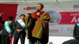 """Analistas opinan sobre palabras de Ollanta Humala """"El blanco seré yo"""""""