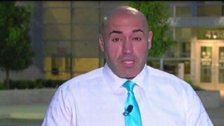 EEUU: gata sorprende a reportero durante transmisión en vivo