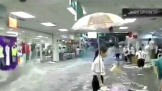 Inundaciones y tormentas generan estragos en China