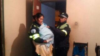 La Molina: serenos ayudaron a gestante a dar a luz en su casa