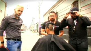 Los mejores barberos del mundo alborotan las calles de Lima