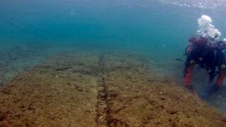 Grecia: descubren base naval sumergida desde hace 2.500 años
