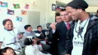 Bloque Deportivo: La sorpresa de Ronaldinho para la ciudad imperial