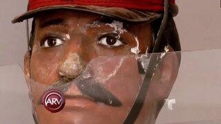 Bolivia: maniquí 'diabólico' de escuela militar atemoriza a pobladores