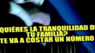 Policía interviene a tres extorsionadores en Trujillo