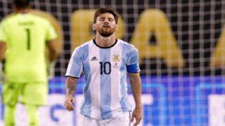 Lionel Messi renunció a la selección argentina tras derrota ante Chile