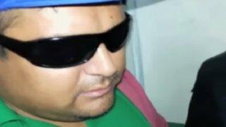 Puente Piedra: detienen a sujeto que se hacía pasar por ciego