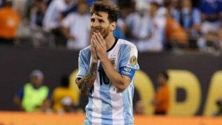 Bloque Deportivo: la frustración de Messi al perder tres finales consecutivas